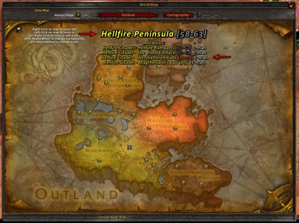 Cartographer | WoW Addons - DKPminus