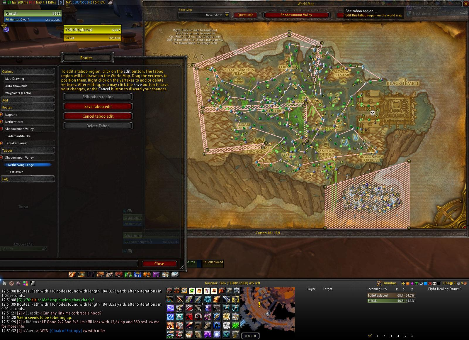 Routes wow addons dkpminus claim addon gumiabroncs Gallery