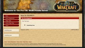 how to make a wow private server