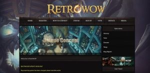 retrowow vanilla private server