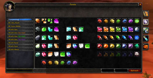 TBC Jewelcrafting Guide 1 to 375 | WoW Guides - DKPminus