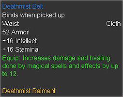 Deathmist Belt