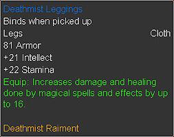 Deathmist Leggings