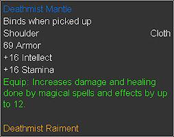 Deathmist Mantle