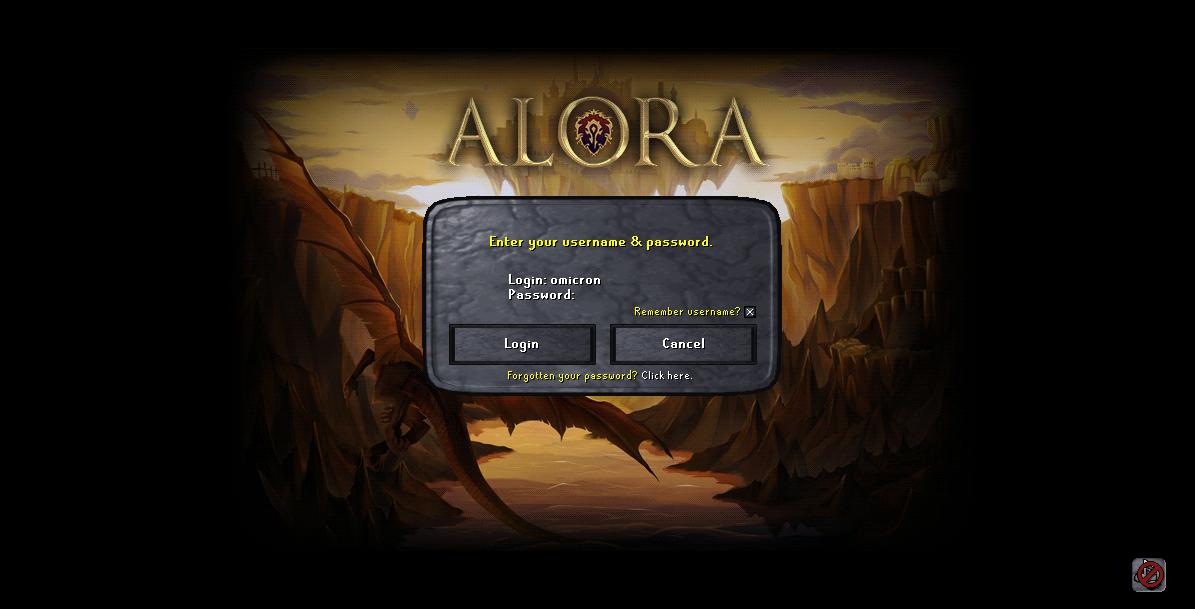 Alora | RuneScape Private Server - DKPminus