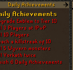 RuneWild RSPS Achievements