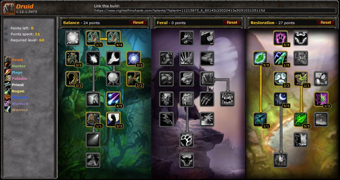 pve druid restoration guide for vanilla wow wow guides. Black Bedroom Furniture Sets. Home Design Ideas