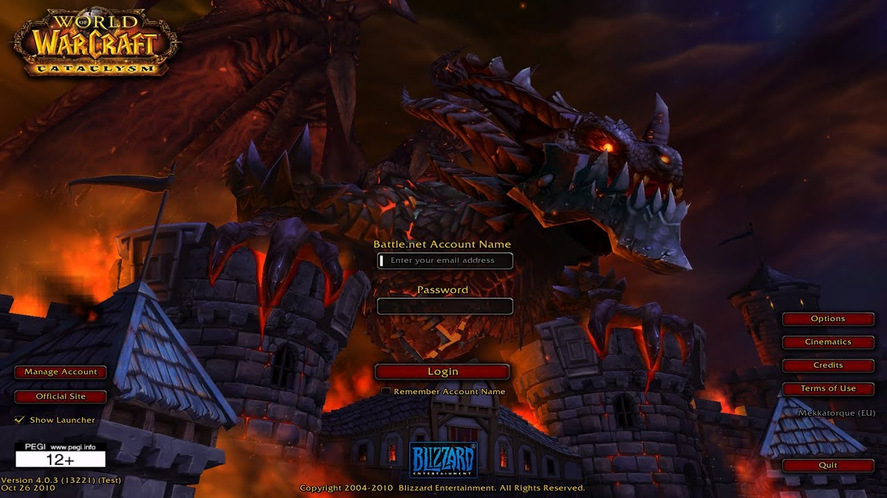 Wow cataclysm download – 4. 3. 4 client dkpminus.