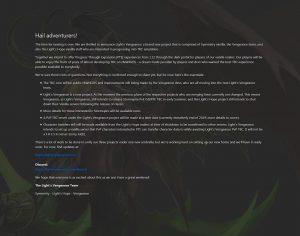 Announcing Light's Vengeance! - DKPminus