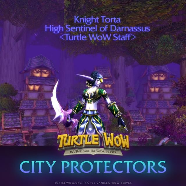 Turtle WoW: PvP titles that Blizzard never published: City