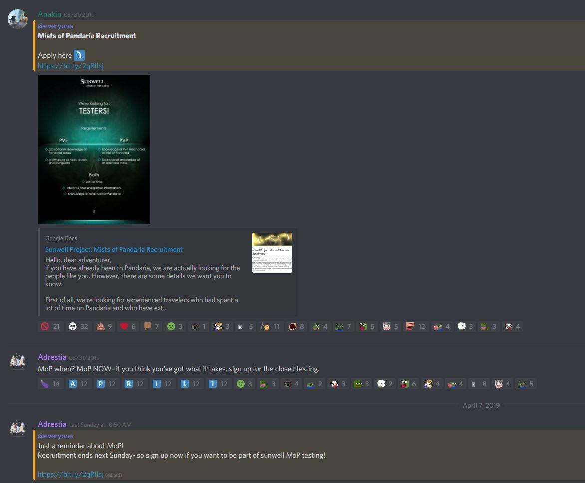 Sunwell announces a Mists of Pandaria closed alpha - DKPminus