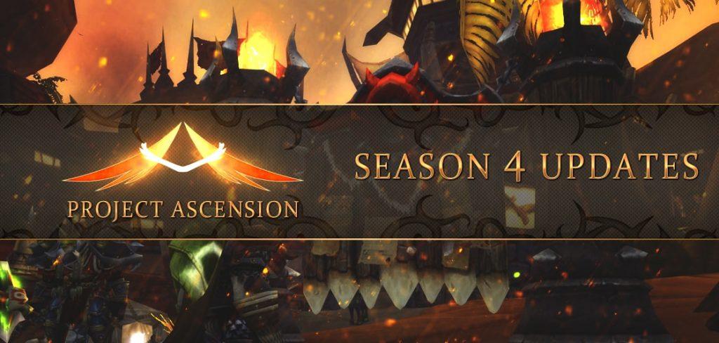 Ascension Classless WoW: Season 4 Draft Mode – MASSIVE